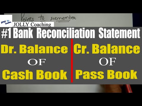 TRICK to solve BRS(Bank Reconciliation Statement) IN HINDI By JOLLY Coaching