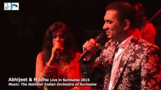 "Ra-Ni Entertainment - Abhijeet & Madhu live in Suriname - ""ZARA SA JHOOM LOO & TAUBA TUMHARE"""