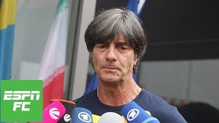 Emotional Germany Manager Joachim Low Reacts To Shock World Cup Exit | Espn Fc