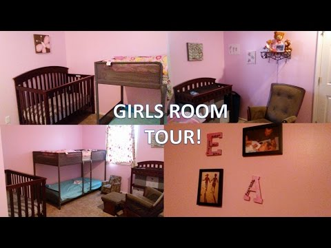 GIRLS SHARED BEDROOM TOUR! [Newborn and 5-year-old]
