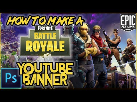 How to make a fortnite youtube banner