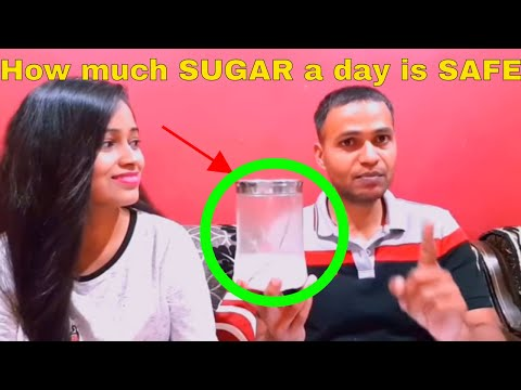 How much SUGAR a day is SAFE | Checkout simple Formula to Calculate it