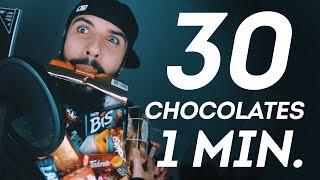 RIMANDO 30 CHOCOLATES EM 1 MINUTO (Prod. Wzy)