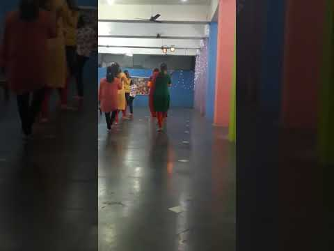 Sambalpur gujrati school garba dance...