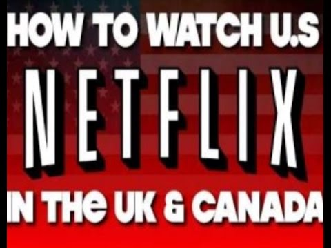 How to get American Netflix in Canada and UK on Xbox360 and One