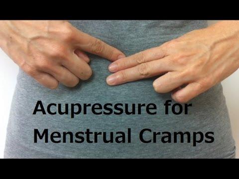 Acupressure Points for Menstrual Cramps - Massage Monday #217