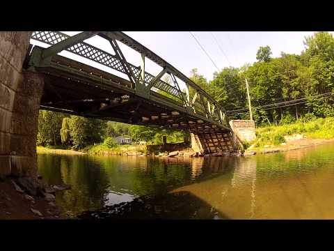 Anthony's Cliff Jumps and Parkour reel 2012