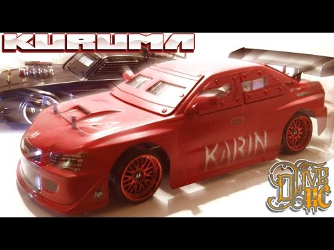 RC DRIFT CAR - ARMORED SUBARU KURUMA inspired by GTA 5