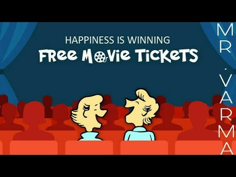 How to get FREE Movie Tickets online (( FOR FREE)) With Proof !