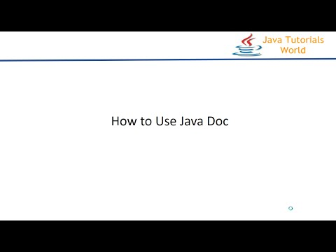 How to Generate JavaDocumentation using java doc tool - java doc command
