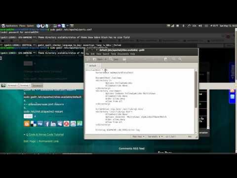 Change Apache Ports [Ubuntu]