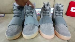 check out 78b6e c3ac4 Adidas Yeezy 750 Boost(Light Grey/Gum Sole) W/On Foot Review ...