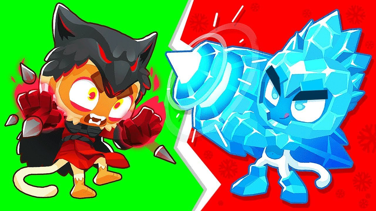 MODDED Bloons TD BUT With the ICE TOWER (Bloons TD Battles)