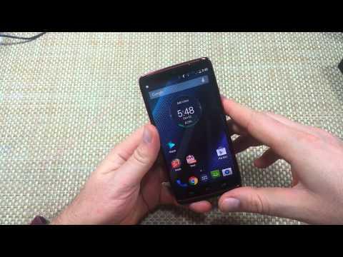 Motorola Droid Turbo How to Take a Screen Shot or Capture Screenshot