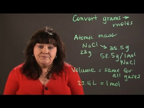 How to Calculate Grams & Volume in Chemistry : Chemistry and Physics Calculations