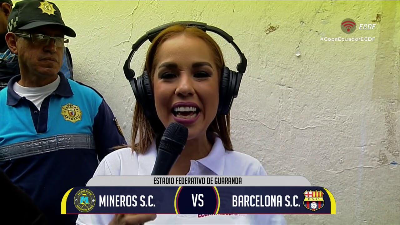 Copa Ecuador   Mineros vs Barcelona   16avos de final   IDA