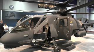 AUSA 2015: Sikorsky S-97 Raider helicopter - first flight