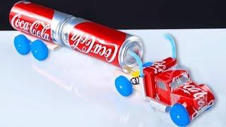 DIY Coca Cola Can Truck!