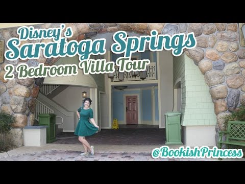 Disney's Saratoga Springs | 2 BEDROOM VILLA TOUR