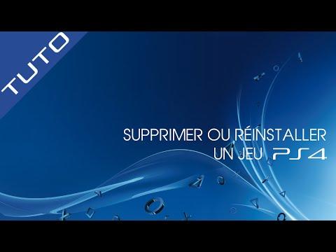 Tuto : Supprimer / Réinstaller un jeu sur PS4