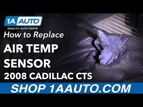 How to Remove Replace Air Temp Sensor 2008 Cadillac CTS