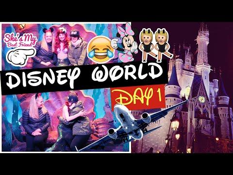 DISNEY WORLD 2016 DAY 1: TRAVEL, PORT ORLEANS FRENCH QUARTER + MAGIC KINGDOM! | Gillian At Home