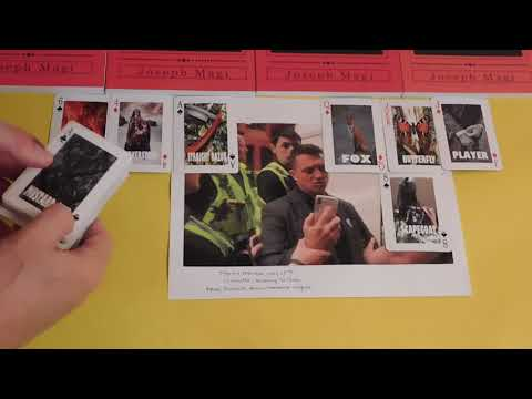 Tommy Robinson Arrest - Playing Card Divination and Fortune Telling: The Magi Method