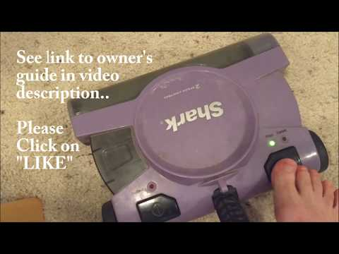 Shark V2945Z - 2-Speed Cordless Vacuum - Disassemble, Clean, Reassemble - with User Manual Link