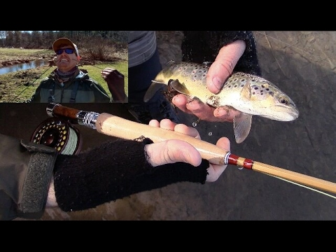 Breaking a Rod When the Bite Was HOT - TONS of Wild Brown Trout
