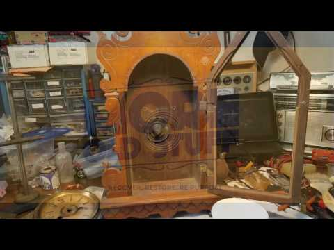 How to use Hand Cleaner to clean a Wooden Clock Case.