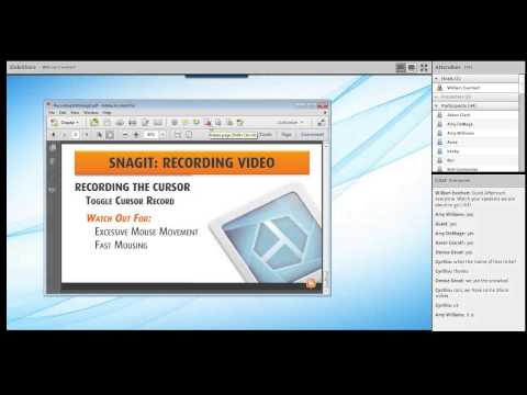 Recording Screen Video with Snagit 12
