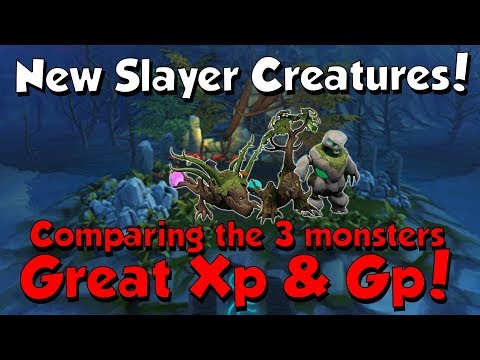 New Slayer Creatures! Lost Grove [Runescape 3] Good XP & GP!