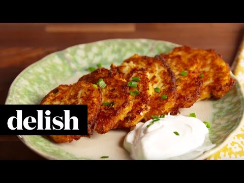 Fried Mashed Potatoes | Delish