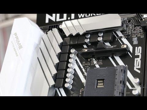 Asus X470 Prime Pro Preview Ryzen 2 2600X 2700X