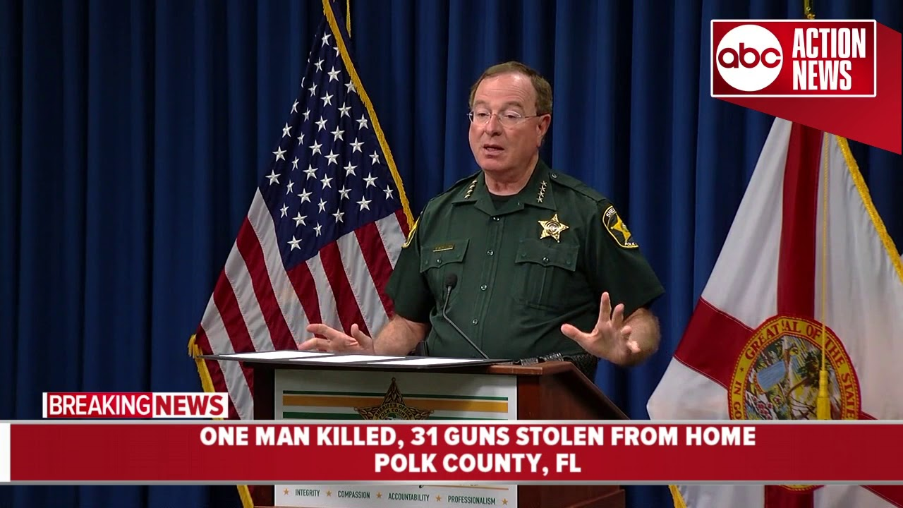 Sheriff: FEMA contractor traveled from Alabama with 2 others to kill Polk City man, steal his guns