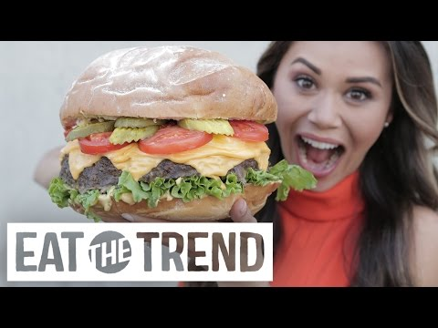 How to Make a GIANT Burger | Eat the Trend