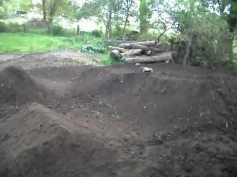 Awesome rc track NEW!! (Homemade backyard track rebuild!!!!) Part 2