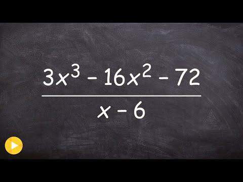 Dividing polynomials using synthetic division with missing a term