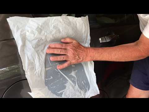 remove leaf sap from car paint