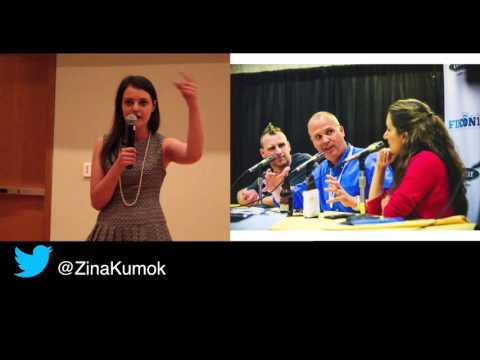 Zina Kumok - Don't Wait for Anyone to Give You a Job - Ignite FinCon15