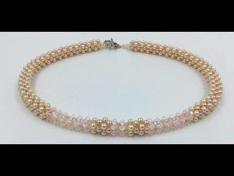 Cubic Right Angle Weave Necklace