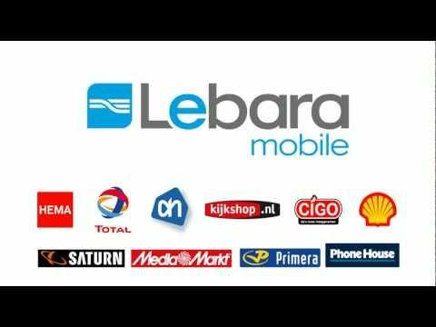 Lebara NL TV Commercial 20=60 - Lekker Bellen met Lebara - feb. 2013 - 20.000+ winkels