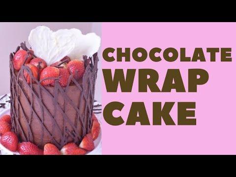 Chocolate Wrap Chocolate Cake
