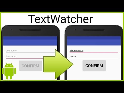 Disable Button When EditText Is Empty (TextWatcher) - Android Studio Tutorial