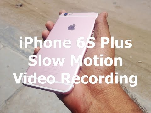 iPhone 6S Plus Video Recording Sample