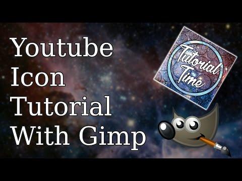 Youtube Icon Tutorial With Gimp