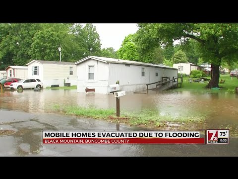 Evacuations due to flooding