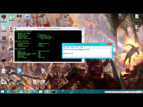 Hack WiFi Password Using CMD
