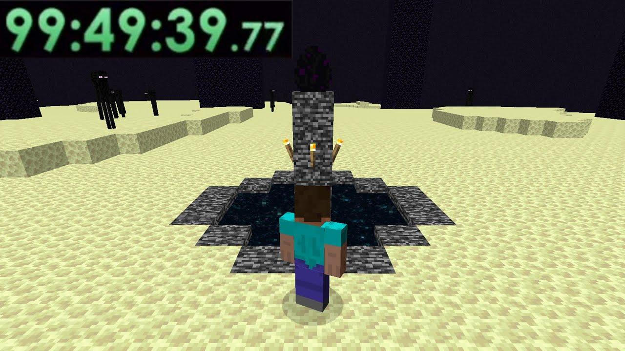 The Story Of The Longest Minecraft Speedruns...