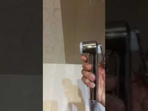 How to use a hand shower